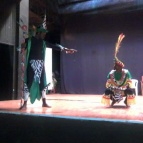 Barefeet Theatres A Midsummer Nights Dream at Kitwee Little Theatre. Photograph British Council Zambia Barefeet