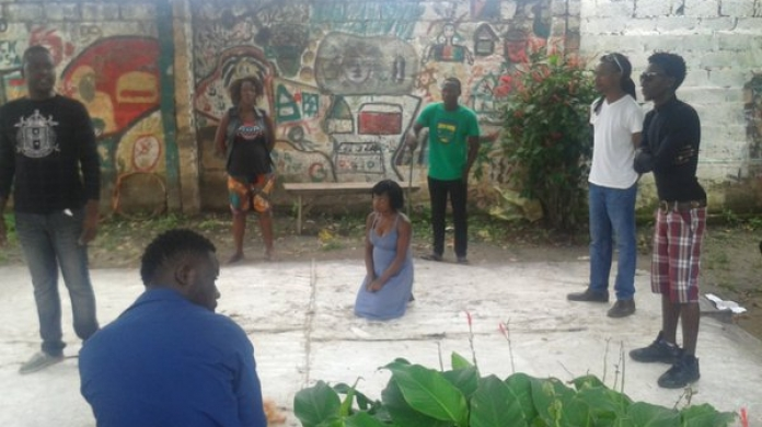 Shakespeare brings british and zambian artists together for Architecture firms in zambia